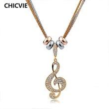 Chicvie Кристалл нигерийские бусы Макси ожерелья и подвески