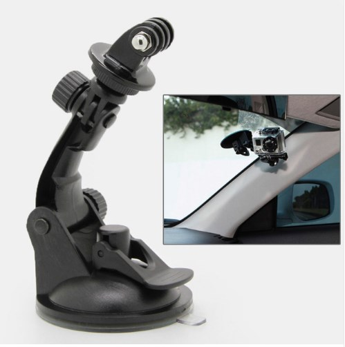 1Pc suction cup mount tripod adapter camera accessories for hero 4//3//2//hd  ^S