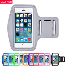 купить Universal Sport Arm Band for phone 5S 4S 5 4 running arm bag Men/Women applicable outdoor Cycling Workout Case phone bag Unisex дешево