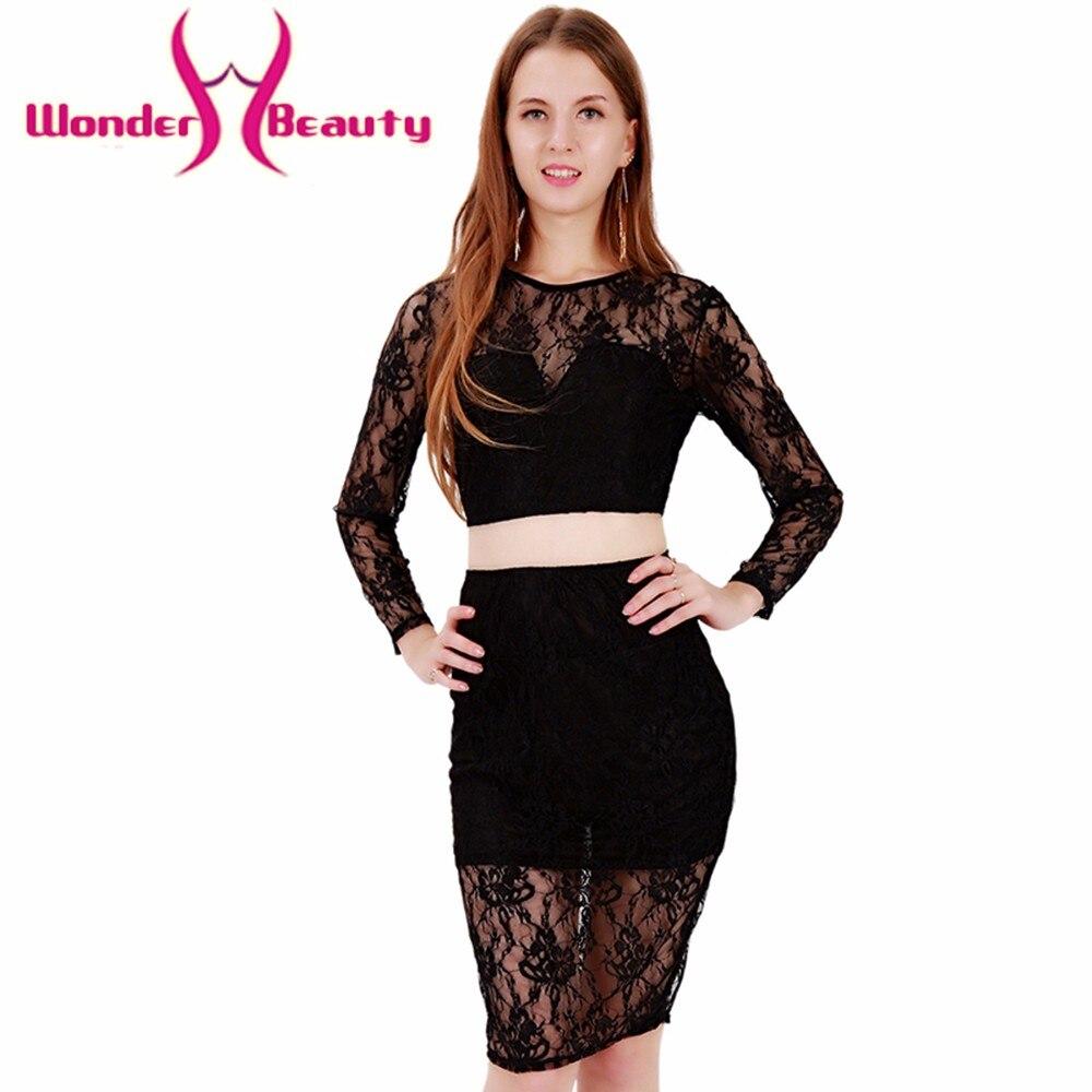 Beauty Fashion Group: Wonder Beauty Fashion Stylish Waist Line Black Lace Mesh