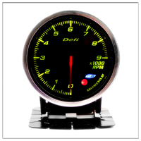 DEFI Tachometer Car for honda city civic 1999 2001 2005 2006 2008 ek accord 7 2008 Auto Pointer gauge saat 0 9000RPM Meter 60mm