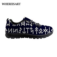 WHEREISART Shoes Men Air Mesh Shoes For Man Viking Rune Arrows Mens Sneakers Casual Teenager Boys Cushioning Men'S Shoes Cool