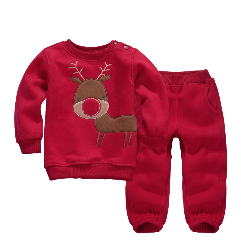 baby boys girls clothes set 2016 christmas outfit baby