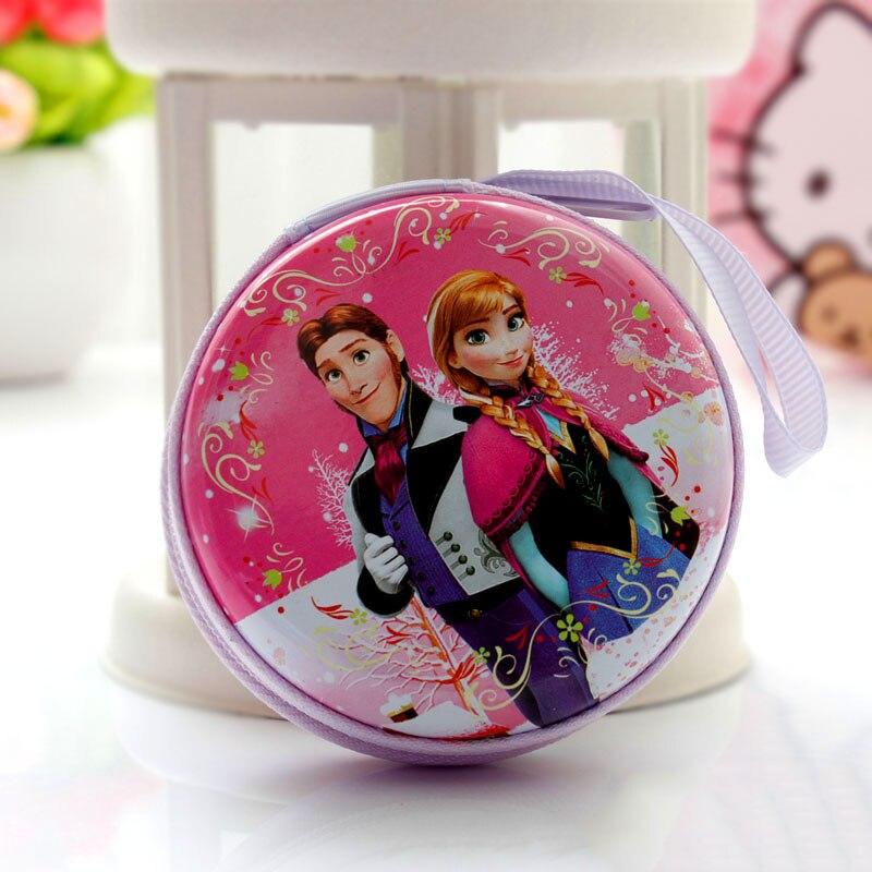 Лидер продаж, кошелек для монет с героями мультфильмов, Эльза, Анна, принцесса, чехол для ключей для девочек, кошелек, детский Снежная королева, гарнитура, сумка для монет - Цвет: I