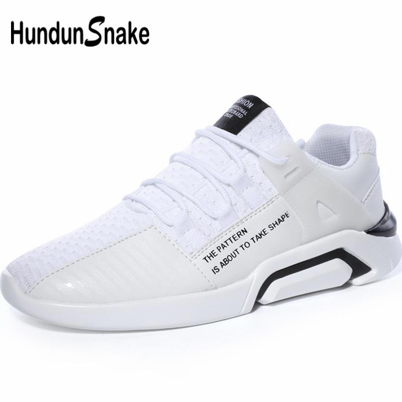 Quality Contemplative Hundunsnake Summer Mens White Sneakers Mens Shoes Sports Shoe Sport Mens Running Shoes Male Big Size Chaussure Homme Walk A-027 Superior In