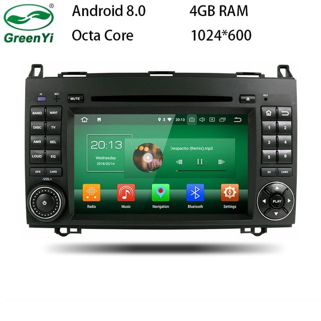 octa core 4gb ram android 8 0 car radio dvd player for mercedes benz rh aliexpress com