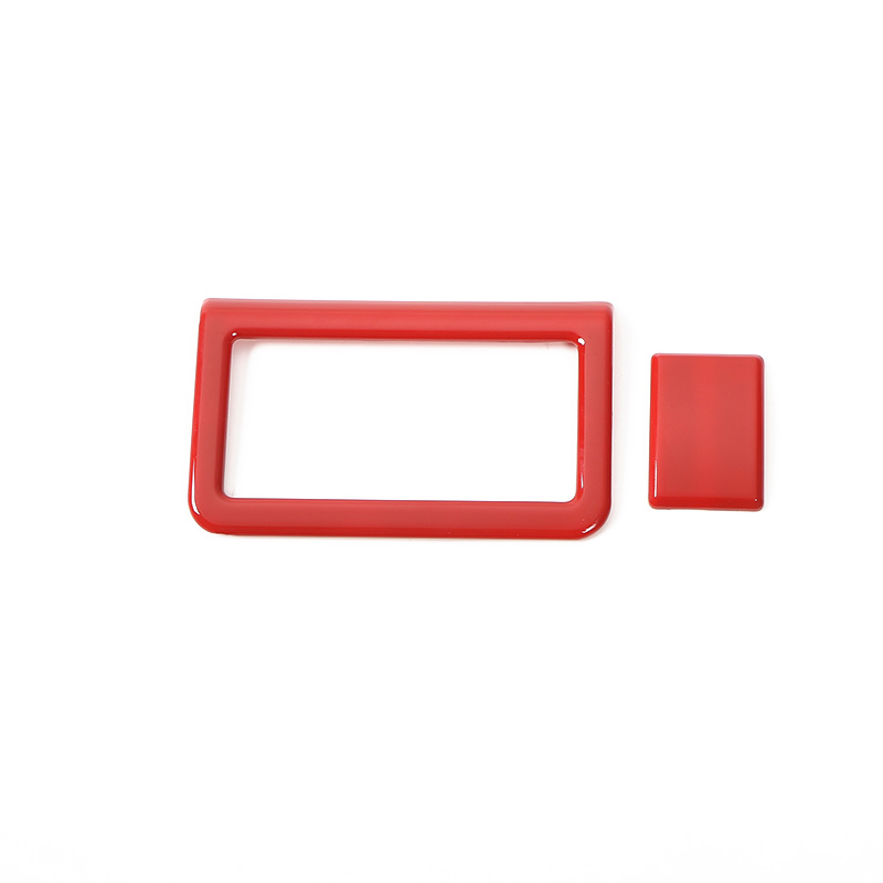 SHINEKA Front Rear Fog Light Switch Decoration Parking Lamp Button Ring Frame Cover Sticker Trim Decoration For Suzuki Jimny in Interior Mouldings from Automobiles Motorcycles