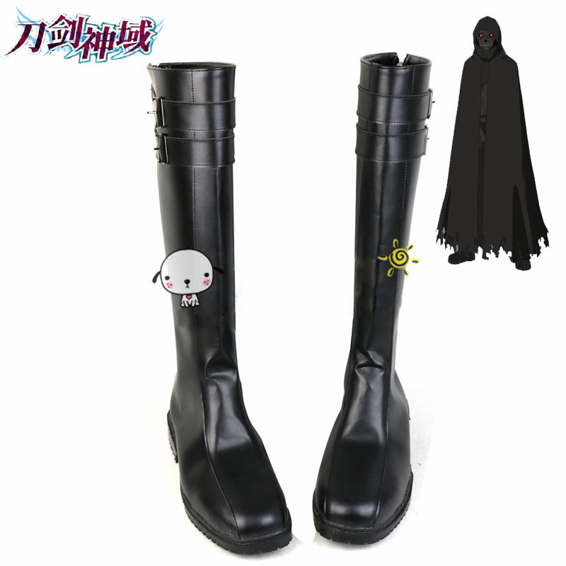Sword Art Online 2 Death Gun Cosplay Shoes Boots Professional Handmade Perfect Custom for You