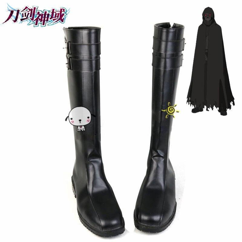 Épée Art en ligne 2 mort Gun Cosplay chaussures bottes main professionnelle! Personnalisé parfait pour vous