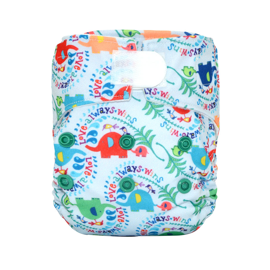 Newborn Cloth Diaper/AIO And Pocket Cloth  Diaper , Fits 0-6 Months Baby