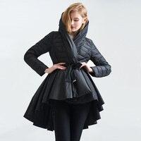 高級冬ジャケット王女ファッションヴィンテージコートライト韓国