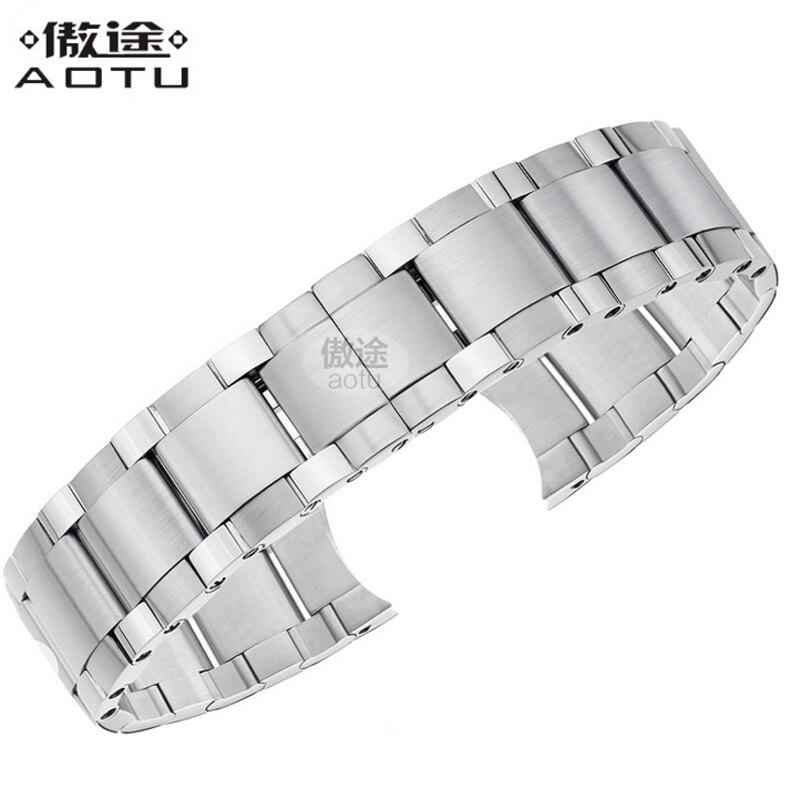Men's Stainless Steel Watch Straps For Blancpain LEMAN/FIFTY FATHOMS Clock Strap Women Luxury Watchband 20MM Ladies Bracelet fifty shades darker