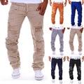 Nueva llegada de los nuevos hombres agujero jeans ripped jeans para hombres de lujo Italiana de moda masculina