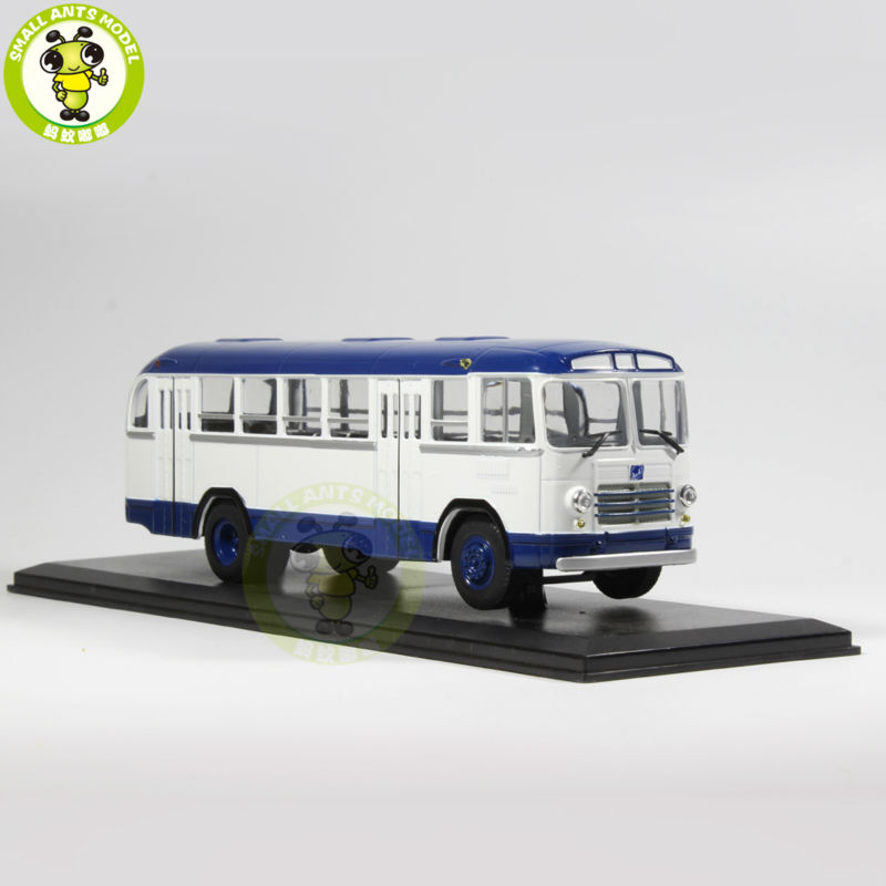 1/43 LIAZ 158B LIAZ-158B Bus Model USSR Soviet Union city bus ULTRA CLASSIC BUS MODEL Blue knl hobby voyager model pea306 soviet union gaz aaa three axis truck with cross country track metal etching pieces
