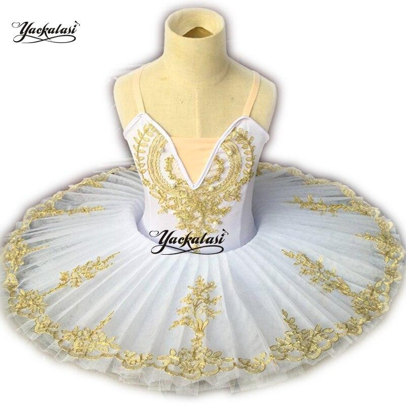 2019 enfant plateau Tutu Led Ballet Costumes plume cygne lac filles danse lumineuse princesse robe enfants ballerine robe de soirée
