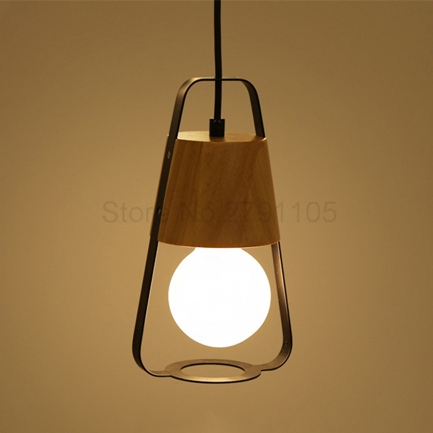 Modern Pendant Lamp Simple Restaurant Wood Light New Design Living Room Bedroom LED Pendant Light Industrial LightingModern Pendant Lamp Simple Restaurant Wood Light New Design Living Room Bedroom LED Pendant Light Industrial Lighting