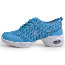 Maultby Women Blue Pink Dance Shoes Women Jazz Hip Hop Shoes Sneakers for Woman Platform Dancing Ladies Shoes #DS4313N