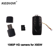 Kedior X8SW RC Quadcopter Drone De Rechange Pièces Vidéo Enregistreur 1080 P HD Caméra Avec 4G Carte