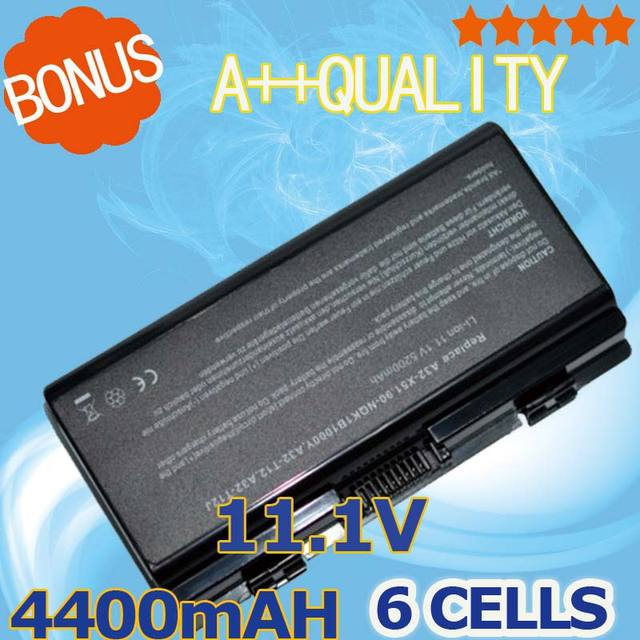 4400mAh laptop Battery For Asus A31-T12 A32-T12 A32-X51 T12 T12C T12Fg T12Jg  X51H X51L X51R X51RL X58 X58C X58L X58Le
