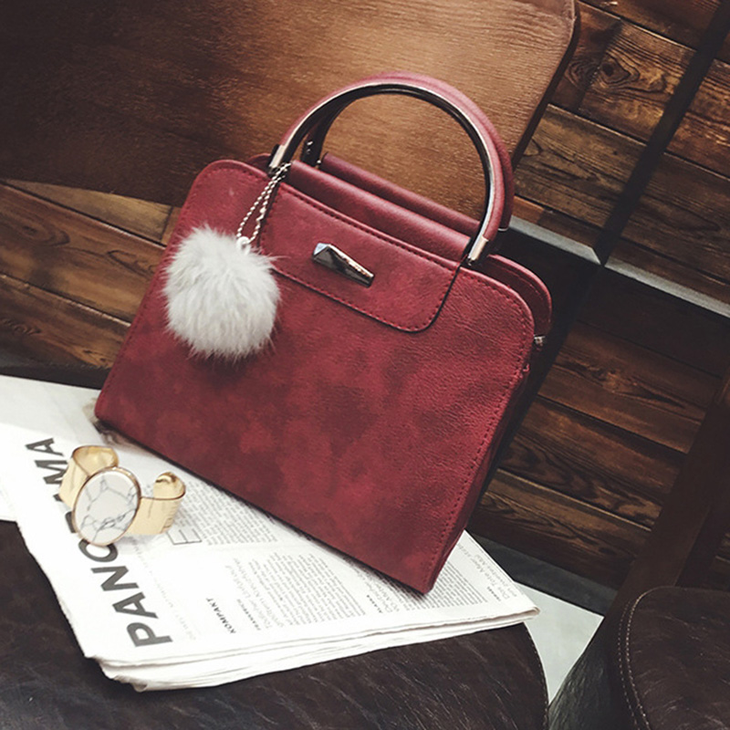 A new round of explosive sales in 2019, good quality and low price, crazy purchases, handbags red ordinary 18