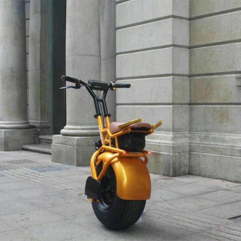 45 km/h haute vitesse brushless électrique moyeu de roue moteur de voiture avec une grande roue de l'auto équilibrage scoooter