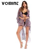 2018 Donne sexy V maxi vestito Delle Donne Della stampa Del Leopardo manica Corta vestito da estate del vestito vestito lungo chiffon 7029