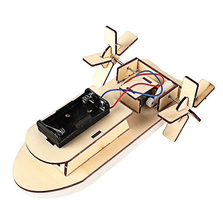 Pequeña tecnología DIY Ship Science Experiment Juguete educativo - Juguetes de construcción - foto 3