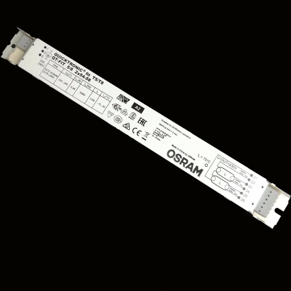 Electronic Ballast Standard Rectifiers for 2*T8 L58W 2*T5 HO54W Lamps TUV CE DE VDE Certificate HF-S 158 TL-D 11 цены онлайн