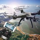3MP RC Drone Syma X5C FPV RC Quadcopter mini Drone with Camera 2.4G 6-Axis RC Helicopter Drones With Camera HD dron aircraft