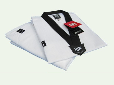 WTF Taekwondo Dobok 3 Line Cloth Excellent  Special MOOTO ITF Suit Tae kwon do Uniform Karate Clothes Child Adult Suitable