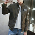 2016 Men Winter Jacket Warm Casual All-match Single Breasted Solid Men's Coat Popular Coat For Male Black Color Size IS-4XL