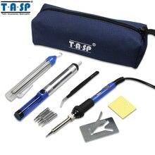 110 В/220 В 60 Вт Электрический Регулируемая Температура Паяльник Сварка Пистолет Repair Tool Kit