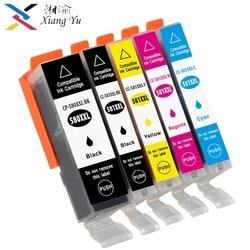 5PK PGI 580XXL CLI 581XXL chog 580 atramentu kartridż do canona PIXMA TR7550/TR8550/TS6150/TS6151/TS8150/TS8151/TS8152/TS9150/TS9155|Tusze do drukarek|Komputer i biuro -