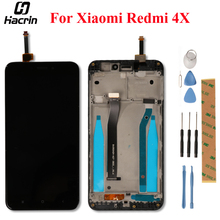 ЖК дисплей с сенсорным экраном и рамкой для Xiaomi Redmi 4X, сменный дигитайзер в сборе для Xiaomi Redmi 4X Pro
