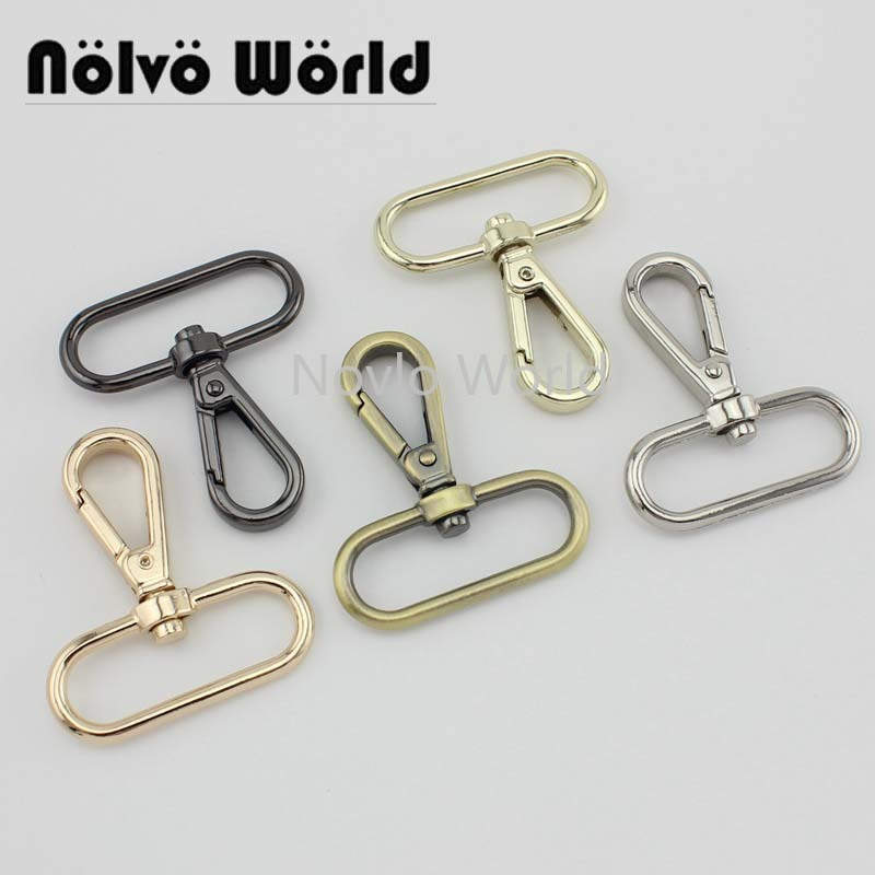 "4 pieces test, 50*38mm 1-1/2"" small quantity  metal strap buckle for bags, dog collar lobster clasp swivel snap hook accessories()"