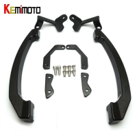 KEMiMOTO For Yamaha MT 07 MT07 MT 07 FZ07 Accessories CNC Rear Grab Bars Passenger Seat Hand Bar Rail Handle 2014 2015 2016 2017
