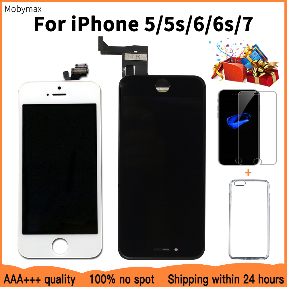 AAA+++ LCD Display For iPhone 6 6S 7 Module Touch Screen Glass Digitizer  Replacement For iphone 7ec2829292