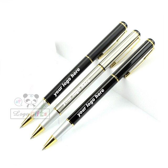 Хороший логотип конструированию с вашим логотипом Бесплатная на теле ручки или pen cap 100 шт. много для Большая распродажа
