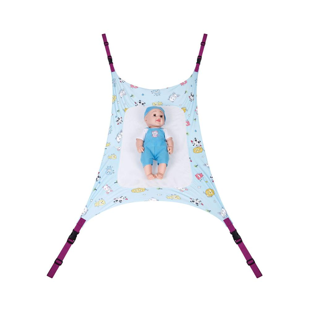 Baby Hammock Safety Measures Infant Nursery Travel Bed Comfortable cotton cloth Material