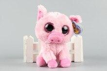 Ty Beanie Boos Corky The Pig Plush Christmas Gifts Lovely Kawaii Cute Soft Stuffed Animals Dolls