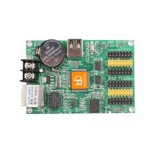 Низкая цена hd-e62 светодиодный дисплей настенный контроллер madrix, светодиодное освещение Пиксельная панель управления карты