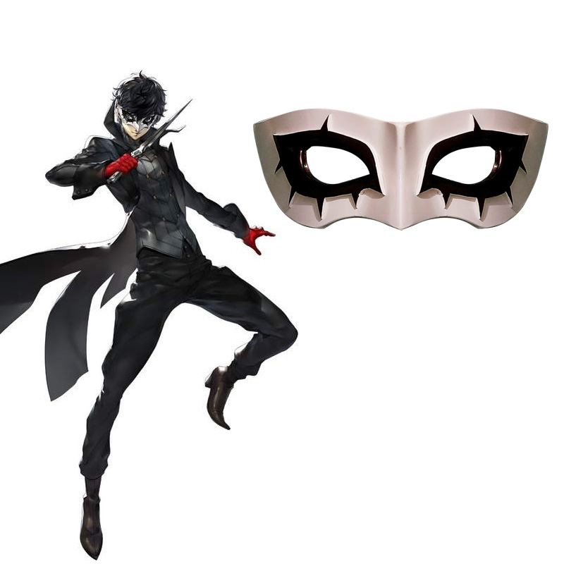 Image 2 - Persona 5 Mask Cosplay Joker Eye Mask Anne Takamaki Panther Mask Ryuji Sakamoto Skull Yusuke Kitagawa Fox Goro Akechi Costume-in Boys Costume Accessories from Novelty & Special Use