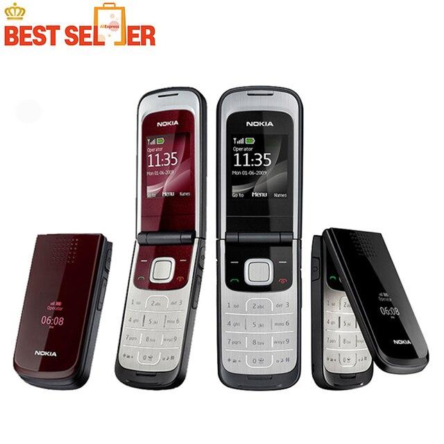 Hot Original Nokia 2720 Telefones celulares Nokia 2720 fold Desbloqueado telefone Celular frete grátis Mais Barato
