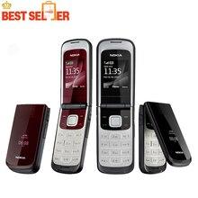 Sıcak Orijinal Nokia 2720 Cep Telefonları Nokia 2720 fold Unlocked Cep Telefonu ücretsiz kargo En Ucuz telefon
