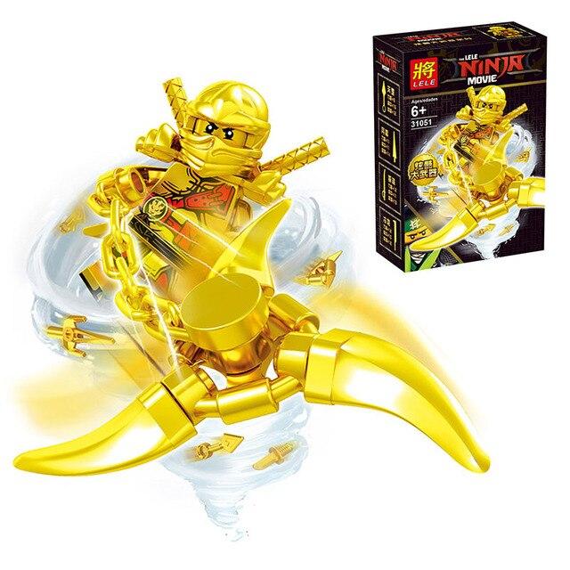 2017 new gold edition ninja figures blocks lot kai jay - Ninjago kai jay zane cole lloyd ...