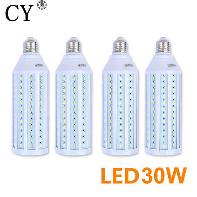 4pcs Photo Studio 30W LED Corn Bulb & Tubes kit 220v E27 5730 SMD Bulb Photographic Lighting