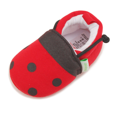 Delebao Cute Littler Mouse  New Design Slip-on Baby Shoes Unisex Gray Cotton Toddler First Walkers Wholesale
