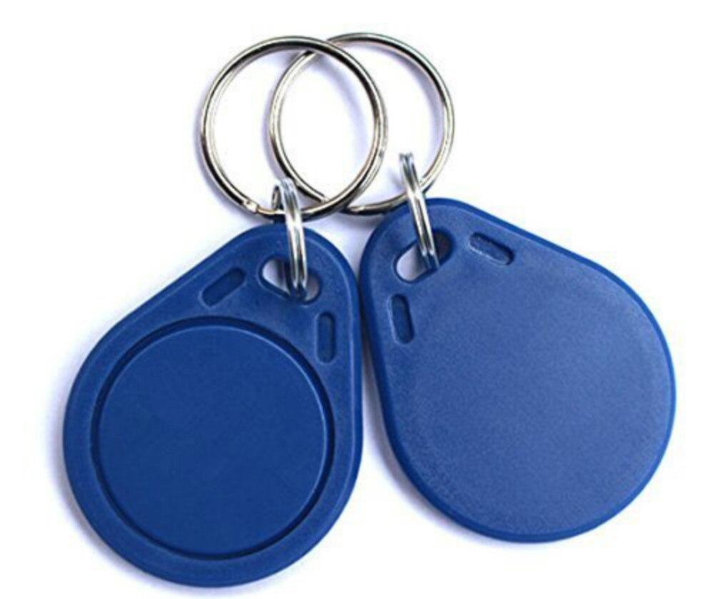 10 pcs RFID 125 KHz Inscriptible Rewrite T5577 Porte-clés À Puce de Proximité D'accès À Puce key porte-clés tags
