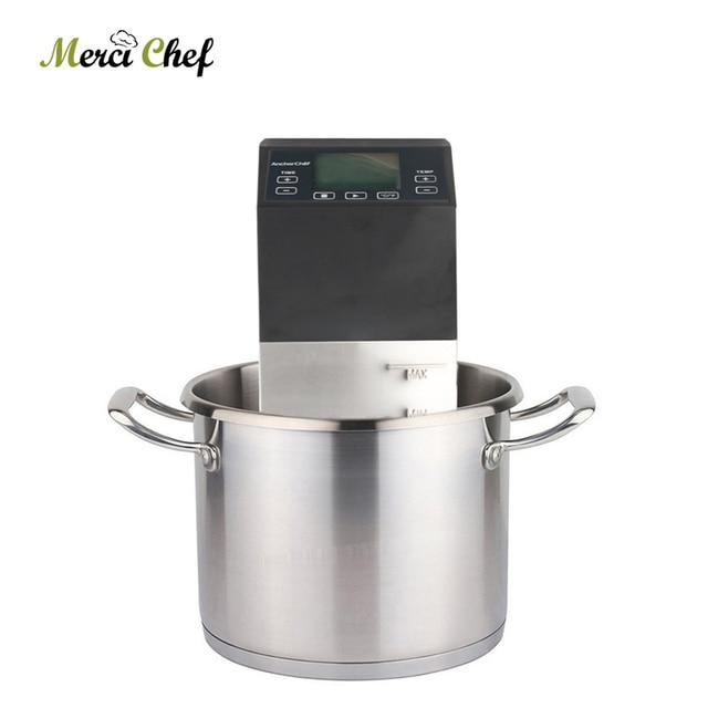 ITOP 1500W Sous Vide Cooking Machine Low Temperature Vacuum Cook Pure Boiled Machine Steak Cooker Vacuum Food Processor Machine