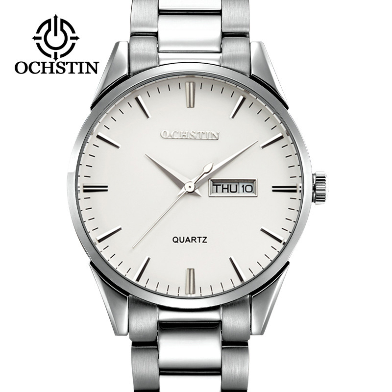 Mens Watches Top Brand Luxury Silver Steel Automatic Mechanical Watch Men reloj hombre 2018 relogio Date Sport Men Wrist Watches